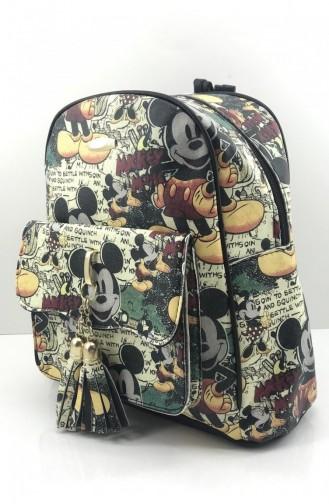 Black Back Pack 000603.SIYAH