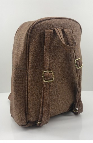 Tobacco Brown Back Pack 000604.TABA