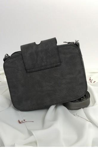 Anthracite Shoulder Bag 000662.ANTRASIT