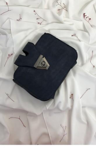 Navy Blue Shoulder Bag 000662.LACIVERT