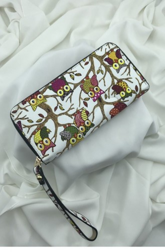 White Wallet 000912.BEYAZ