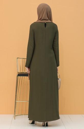 Robe Hijab Vert 7002-04