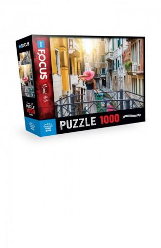 Blue Focus 1000 Parça Puzzle Traveller Women 67567044246009