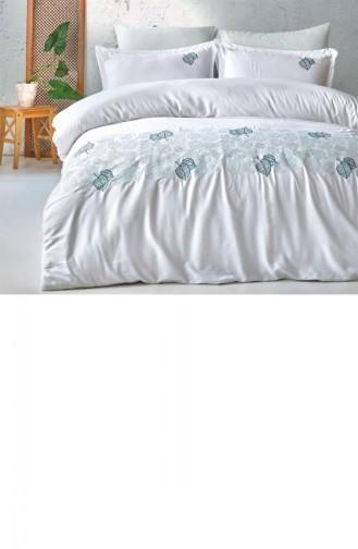 غطاء لحاف أزرق مائل الى الأخضر 8681727082474