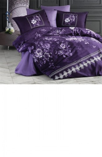 Purple Bedlinen Set 8681727147357