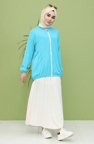 Turquoise Vest 0004-04