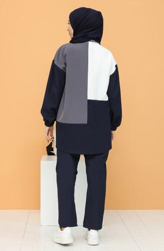 Navy Blue Suit 2315-03