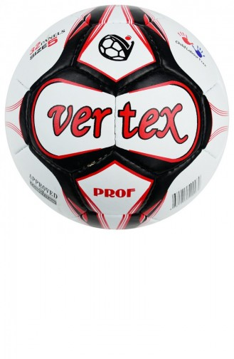 Vertex Prof Dikişli 5 No Futbol Topu Kırmızı