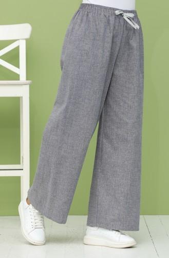 Pantalon Bleu marine clair 4038-02