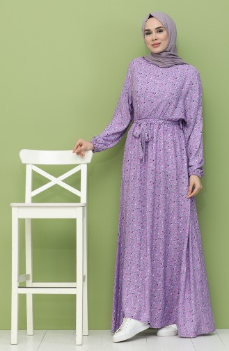 فستان ليلكي 21Y8256-02