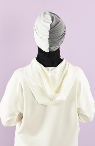 Gray Ready to wear Turban 9022-03