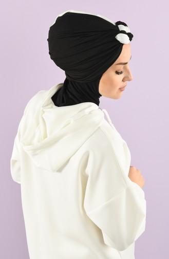 Black Ready to wear Turban 9022-09