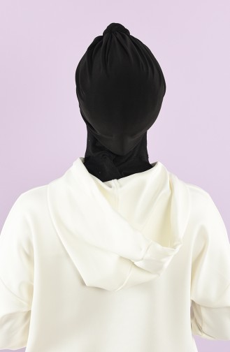Black Ready to wear Turban 9025-05