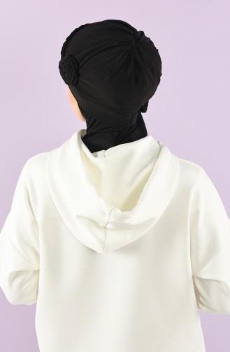 Black Ready to wear Turban 9026-15