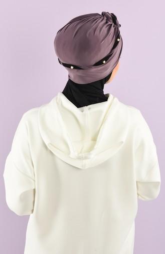 Lilac Ready to wear Turban 9027-02