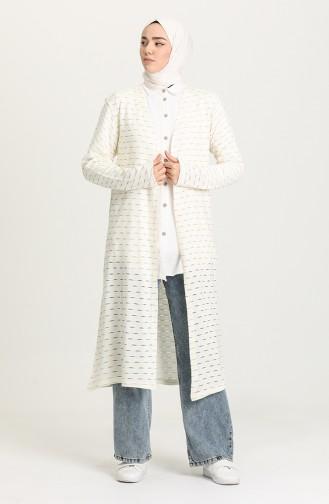 Cream Vest 8235-01