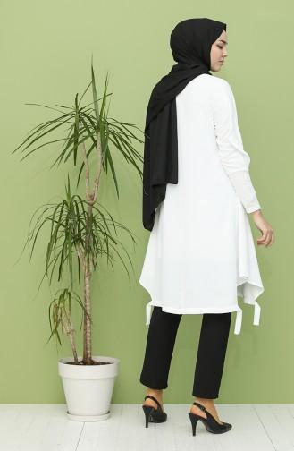 Tunique Blanc 15021-04