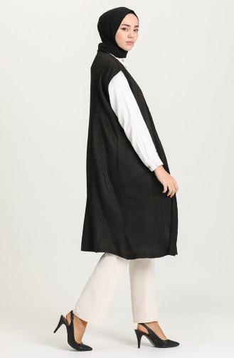 Black Gilet 8233-01