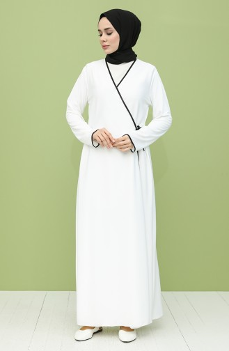 White Praying Dress 4565-08