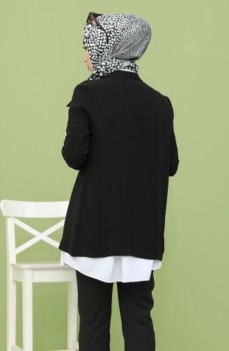 Schwarz Jacke 61001-01