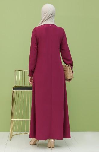 Robe Hijab Plum 1003-09