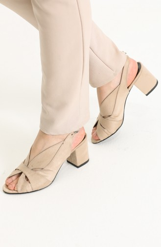 Skin Color High-Heel Shoes 9053-05
