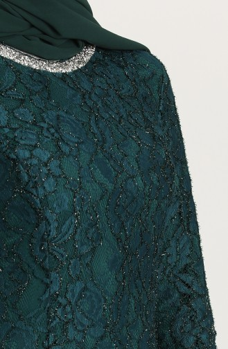 Emerald İslamitische Avondjurk 2054-02
