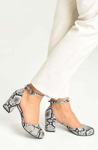 Eisblau Tägliche Schuhe 9115-07