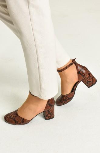 الأحذية الكاجوال أخضر تبغ 9115-11