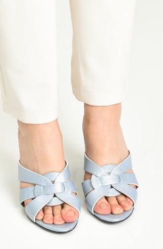 Blue Summer Slippers 1362-15