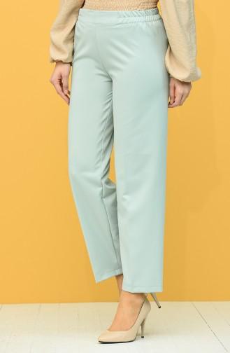 Elastic Waist Trousers 1983-18 Milk Brown 1983F-02