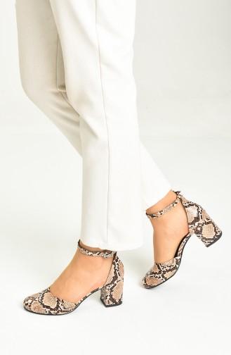 Hautfarbe Tägliche Schuhe 9115-09
