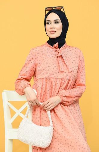 Orange İslamitische Jurk 1447-04
