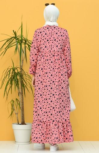 Rot Hijap Kleider 1449-06