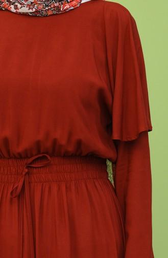Robe Hijab Bordeaux 8313-03