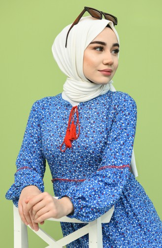 Indigo Hijap Kleider 21Y8276-01
