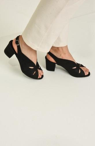 Black High Heels 9053-06