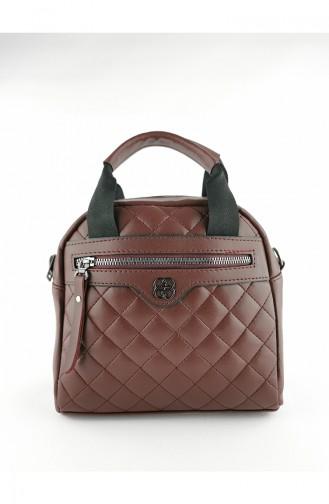 Claret red Shoulder Bag 3587-17