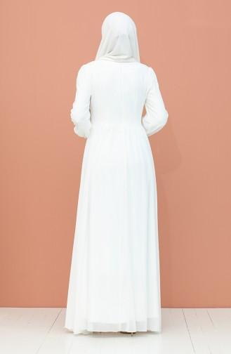Habillé Hijab Blanc 4211-05
