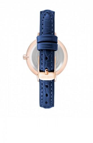 Saks-Blau Uhren 2554RGNV