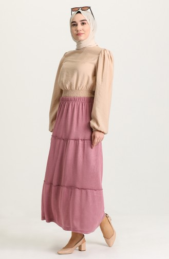 Dusty Rose Skirt 8249-01