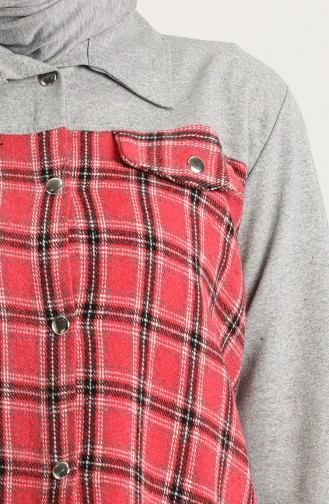 Grau Hemd 4200F-01