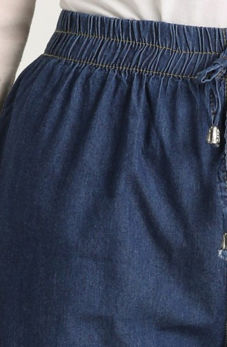 Jeans with Pockets 2001-03 Navy Blue 2001-05
