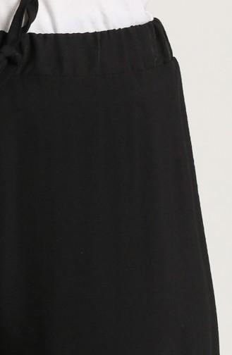Aerobin Kumaş Yürüyüş Pantolonu 0770-01 Siyah