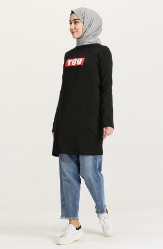 Tunique Noir 6019-01