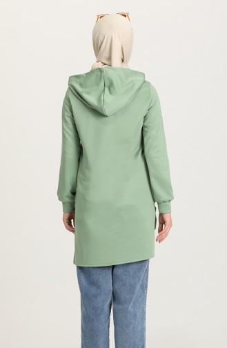 Nefti Grüne Farbe Tunikas 1455-02