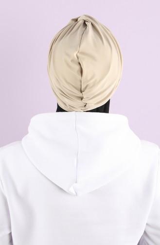 Beige Ready to wear Turban 1153-03