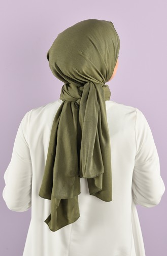 Hellkhaki grün Schal 5022-01