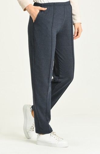 Pantalon Sport Bleu Marine 2104-06