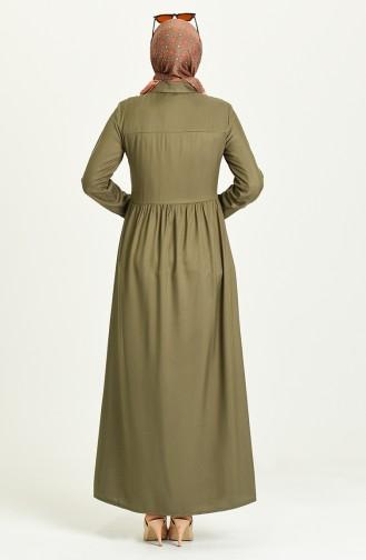 Robe Hijab Khaki 3252-03